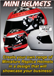 Kral's Creations Miniature Replica Helmets